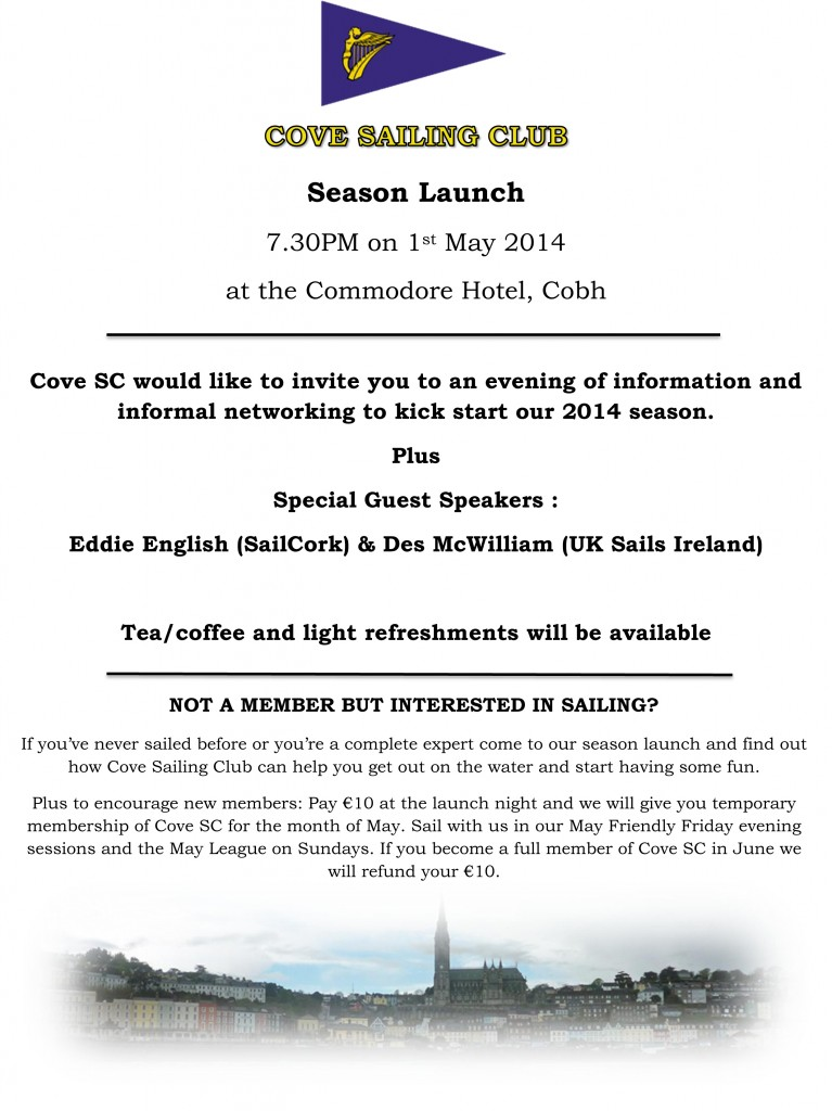 season launch flyer