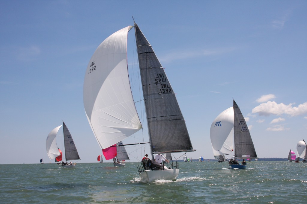 Illes Pitiuses in action in the Quarter Ton Cup 2014. (Pictures courtesy of www,fionabrown.com)