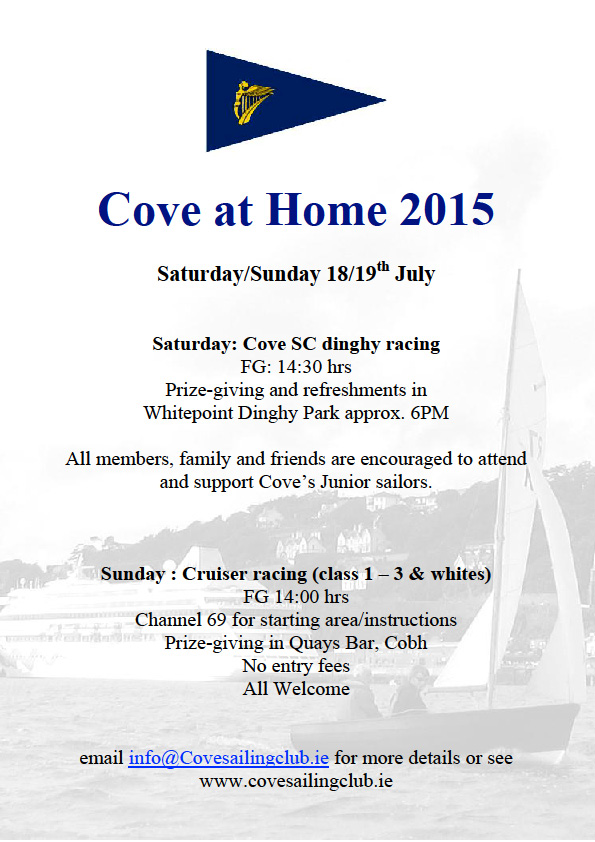 Cove at Home 2015