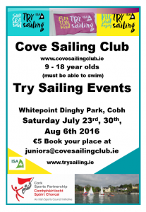 TrySailing 2016 Schools